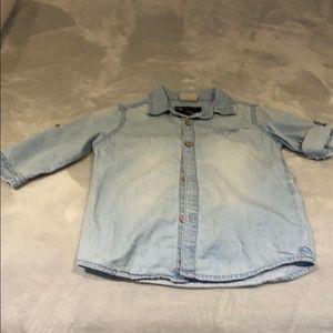 Zara boys Jean shirt!!!
